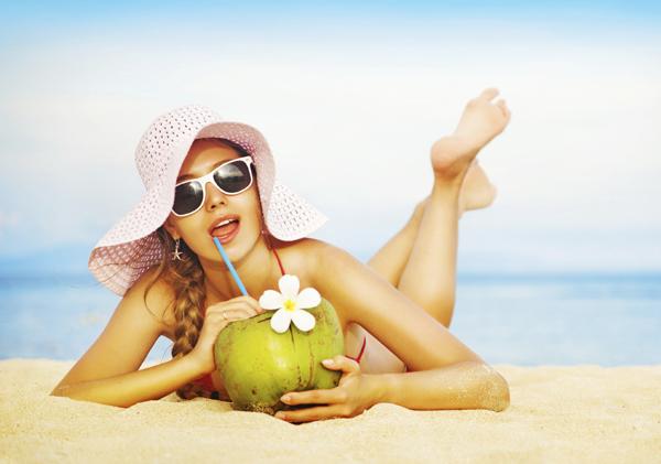 น้ำมะพร้าว สมานแผล ฮอร์โมนเอสโตรเจน โรคอัลไซเมอร์