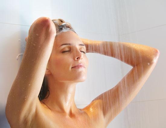 วิธีการอาบน้ำ พร้อมลดต้นขาและหน้าท้อง
