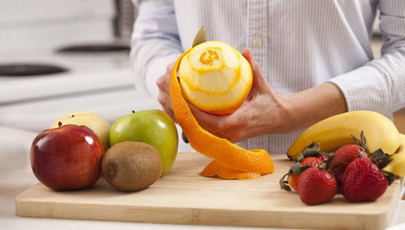 ผลไม้ เปลือกผลไม้