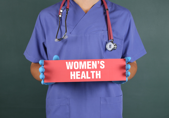 Women's Health Concept with Doctor