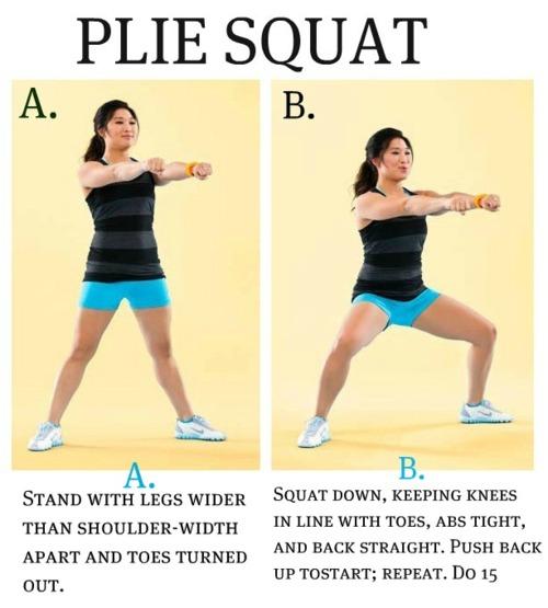 plie-squat