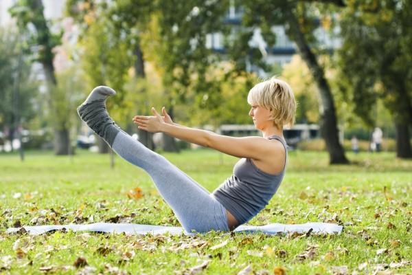 Yoga ลดต้นขา ลดหน้าท้อง โยคะ