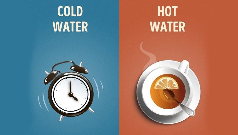 น้ำอุ่น น้ำเย็น อาบน้ำ เคล็ดลับสุขภาพดี