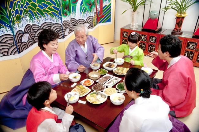 วันตรุษจีน อาหาร เกาหลี