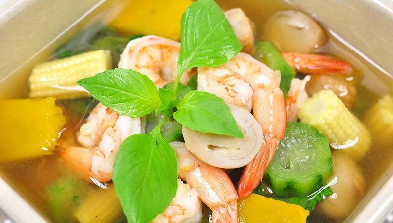 อาหารไทย แก้โรคหวัด