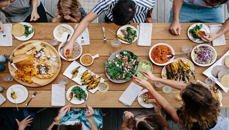 มื้ออาหาร ลดความอ้วน ลดน้ำหนัก สร้างสุขภาพดี