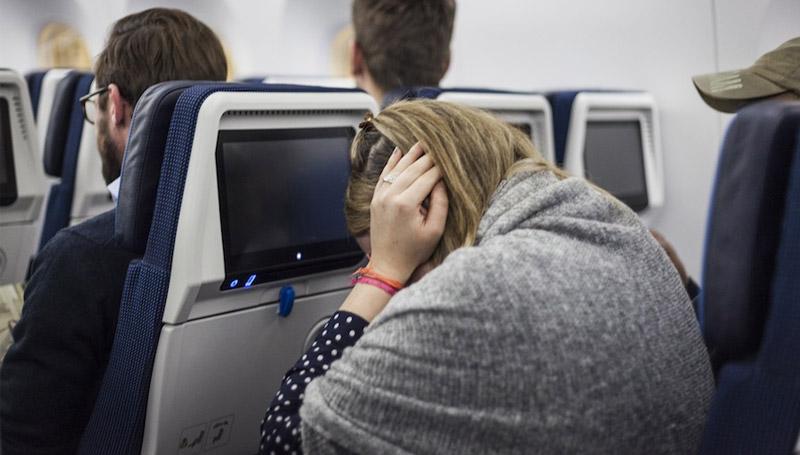 หมากฝรั่ง เครื่องบิน เจ็บหู
