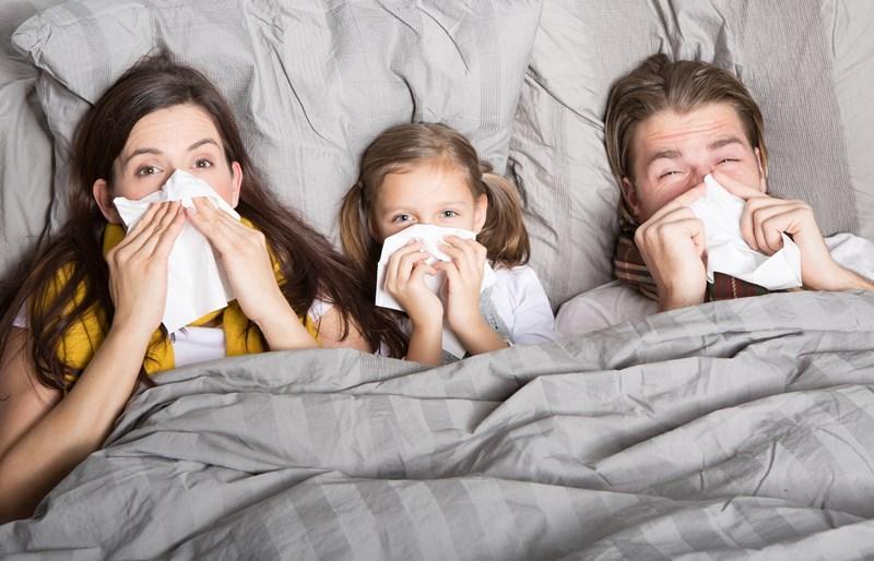 ท้องร่วง ภัยสุขภาพ ฤดูหนาว โรคปอดบวม โรคฮิตหน้าหนาว ไข้หวัด ไข้หวัดใหญ่
