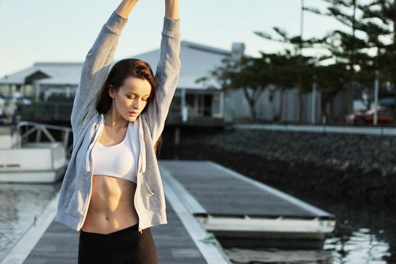 การนอนหลับ ดื่มน้ำ ผลไม้ สุขภาพ ออกกำลังกาย
