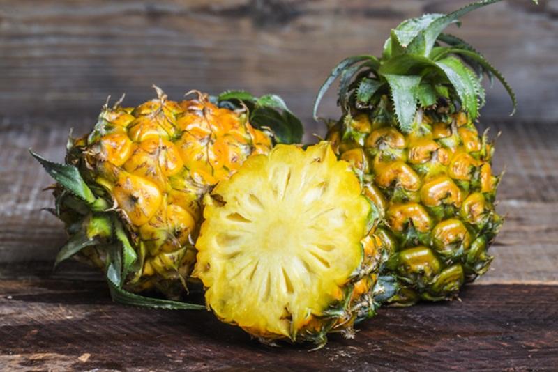 ผลไม้ สับปะรด โรคนิ่ว