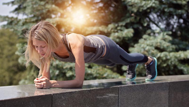 planking การออกกำลังกาย
