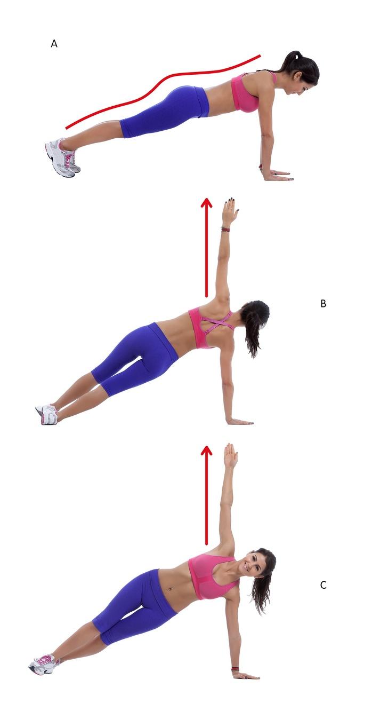 10 วิธีการออกกำลังกายภายใน 20 นาที ช่วยกระชับผิวบริเวรรักแร้และลดไขมันที่หลัง