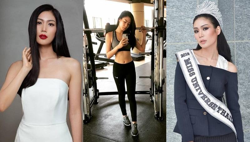 Miss Universe Thailand 2018 MUT 2018 การออกกำลังกาย กินคลีน นิ้ง-โศภิดา กาญจนรินทร์ เคล็ดลับหุ่นดี