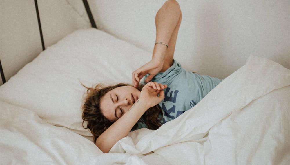 การนอนหลับ ผิว ผิวพรรณ