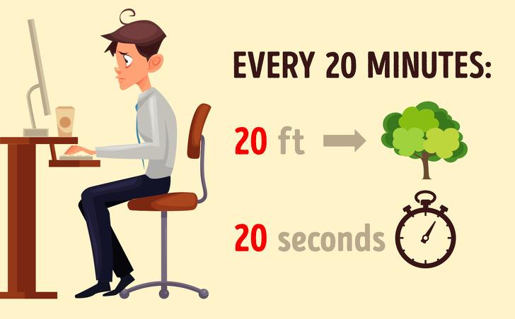 บริหารด้วยวิธี 20-20-20