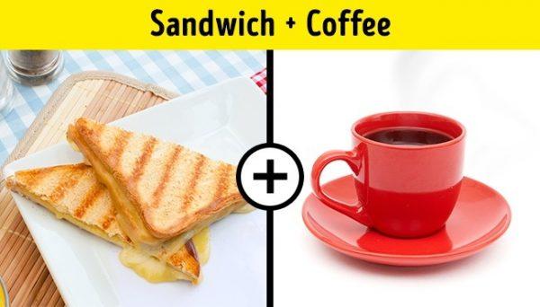 แซนวิซ + กาแฟ