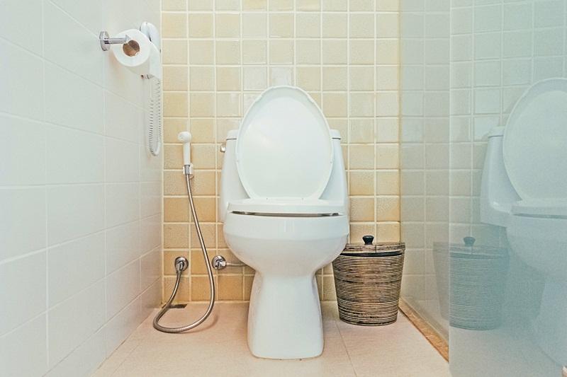 สร้างสุขภาพดี ห้องน้ำ ใช้สายชำระ
