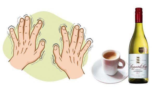มือสั่น