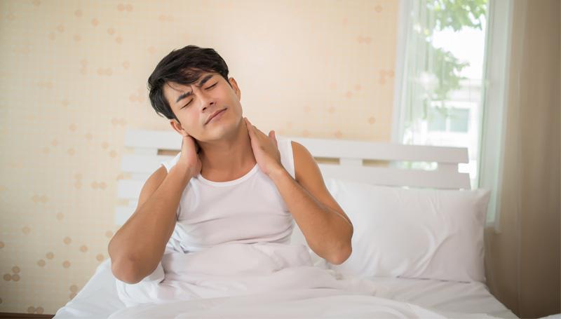 การนอนหลับ ตื่นยาก นอนไม่หลับ ปวดเมื่อย