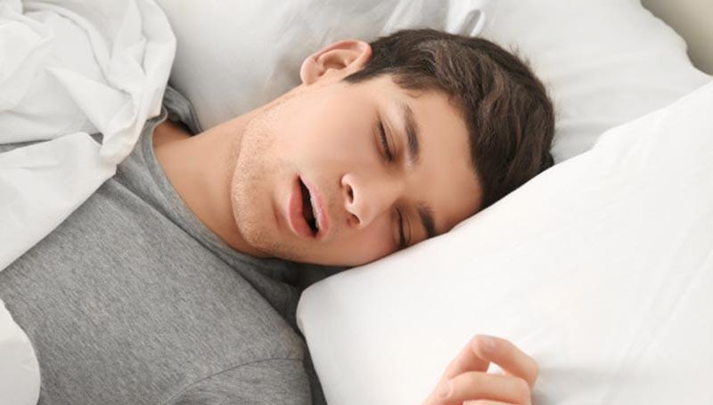 การนอน การนอนหลับ น้ำลาย ปัญหาการนอนหลับ