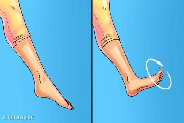ท่านี้ช่วยแก้ไขการปวดข้อเท้า