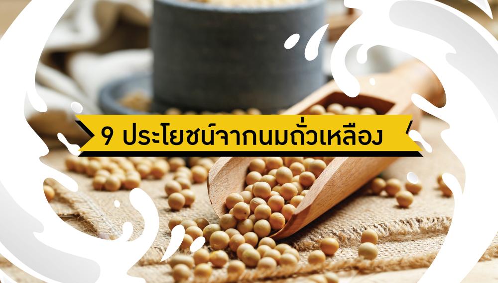 นมถั่วเหลือง สารอาหารสำหรับคนวัยทอง อาหารสมอง ไมเกรน