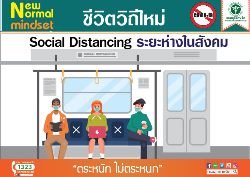 Social Distancing เว้นระยะห่าง